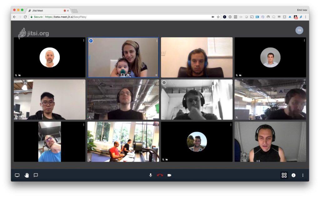 ویدئو کنفرانس نرم افزاری جیتسی Jitsi در خدمات خرید ویدئو کنفرانس  توسعه ارتباطات گلیک
